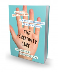 The Creativity Cure book cover